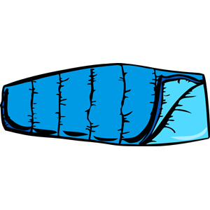 300x300 Blue Sleeping Bag Clipart Cliparts Of Free