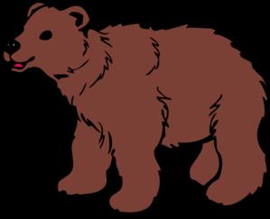 299x243 Brown Bear Clip Art