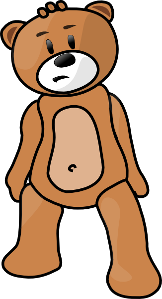 326x600 Free Teddy Bear Clipart Amp Animations