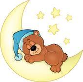 170x168 Sleeping Bear Clip Art