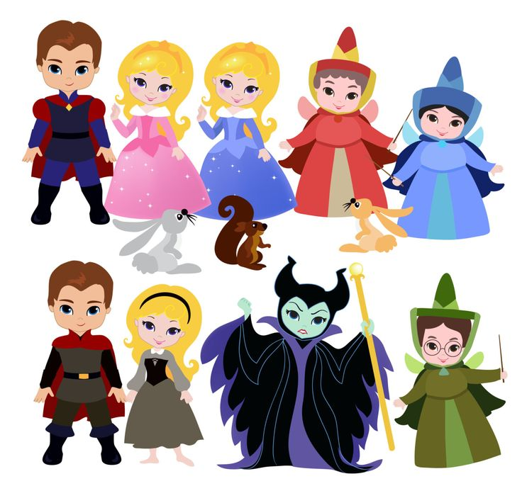 Sleeping Beauty Clipart