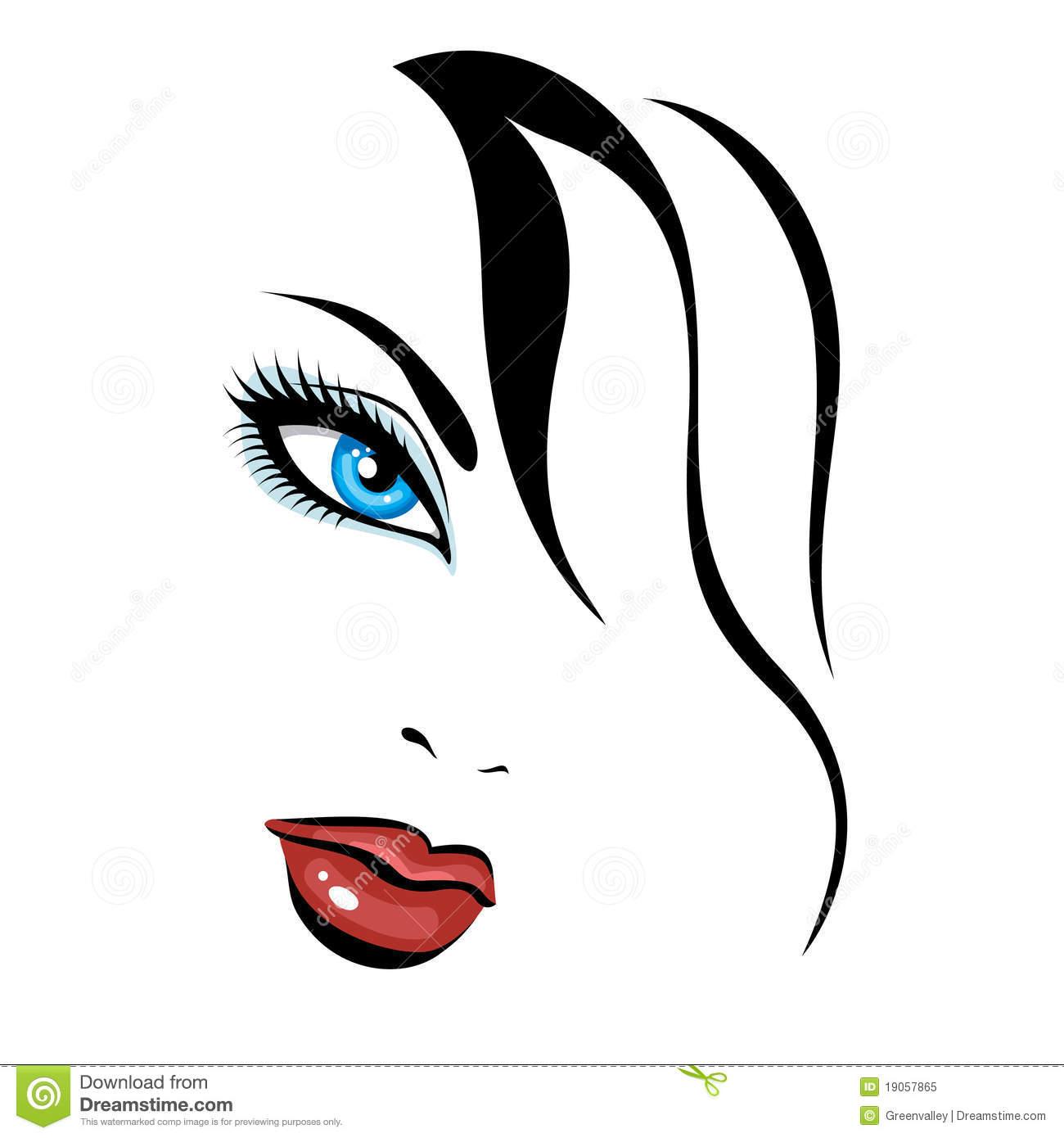 1300x1390 Clipart Beauty