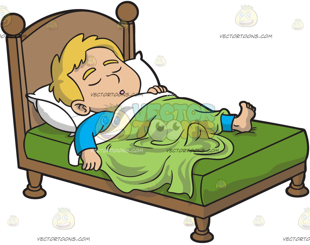 Sleeping Cartoons Clipart
