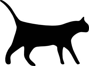 300x222 23 Best Cats Images Black Cats, Board And Cat Clipart