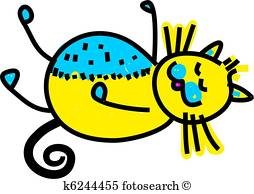254x194 Sleeping Cat Stock Illustrations. 271 Sleeping Cat Clip Art Images