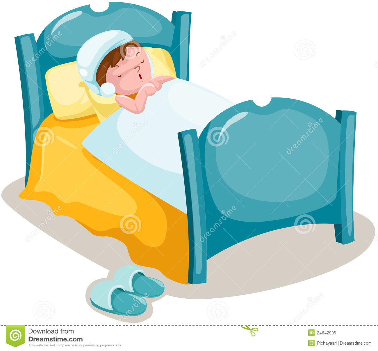 Sleeping In Bed Clipart Free Download Best Sleeping In Bed Clipart
