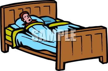 350x232 Royalty Free Clip Art Image Man Sleeping With His Mouth Open