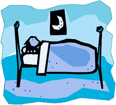 388x352 Sleeping Clipart