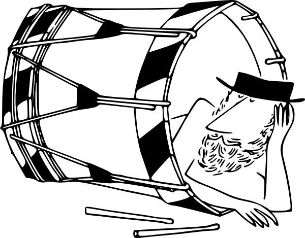 600x469 Sleeping In A Basler Drum Clip Art Free Vector In Open Office