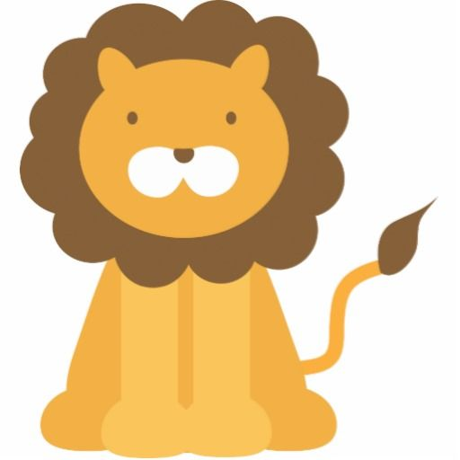 Sleeping Lion Clipart
