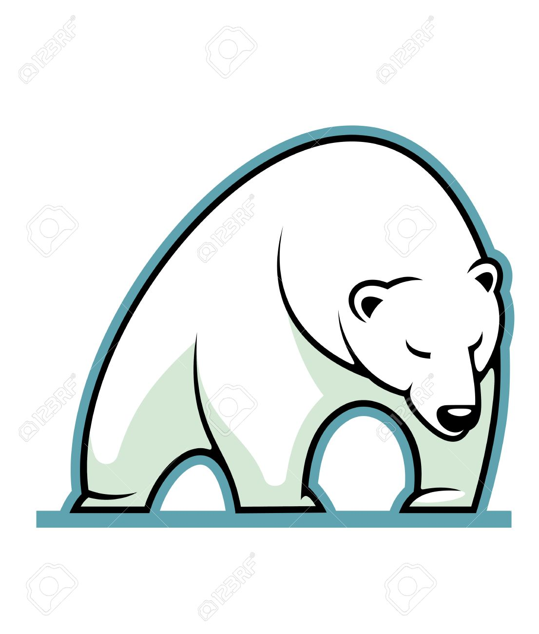 Sleepy Bear Clipart