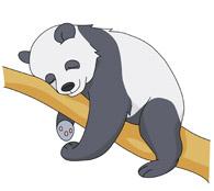195x174 Free Panda Clipart