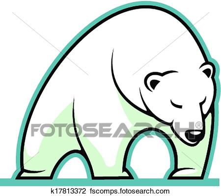 450x399 Polar Bear Clip Art Royalty Free. 5,093 Polar Bear Clipart Vector