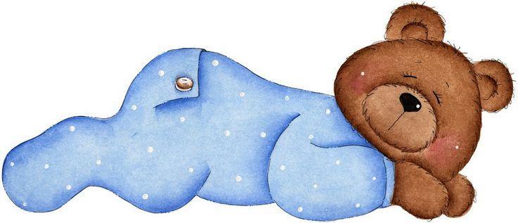 736x317 Sleeping Teddy Bear Clip Art