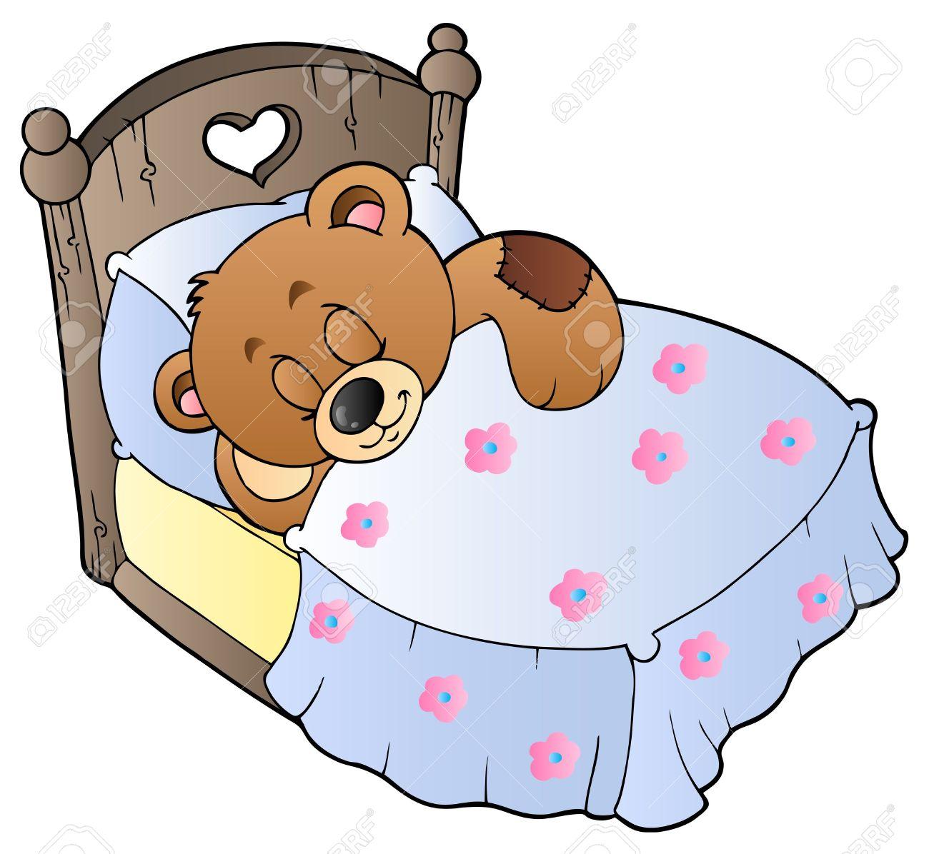 1300x1196 8799946 Cute Sleeping Teddy Bear Stock Vector Cartoon.jpg (1300