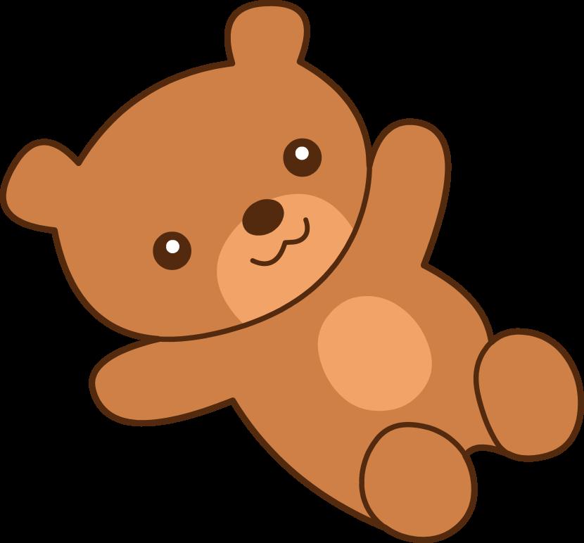 830x772 Teddy Bear Drawings Clip Art