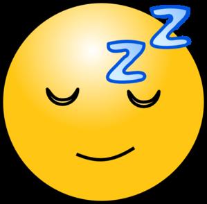 299x294 Sleepy Clip Art