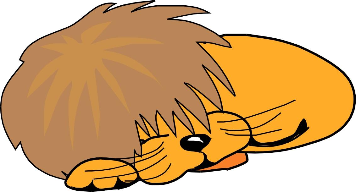 1132x611 Sleepy lion clipart, explore pictures