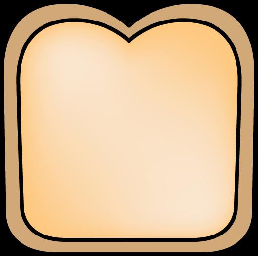 528x524 Slice Of Bread Clip Art