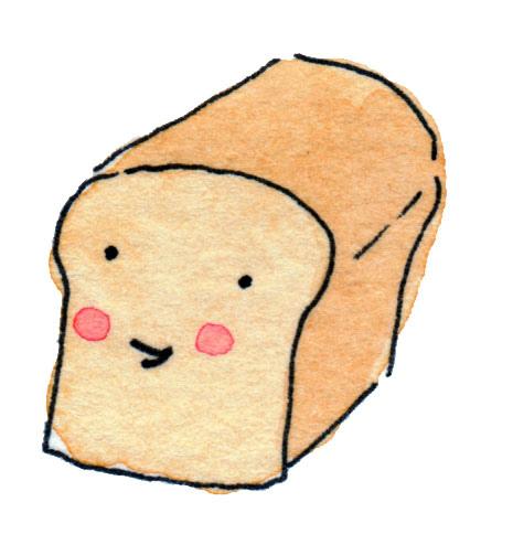 465x494 Slice Of Bread Clipart 2