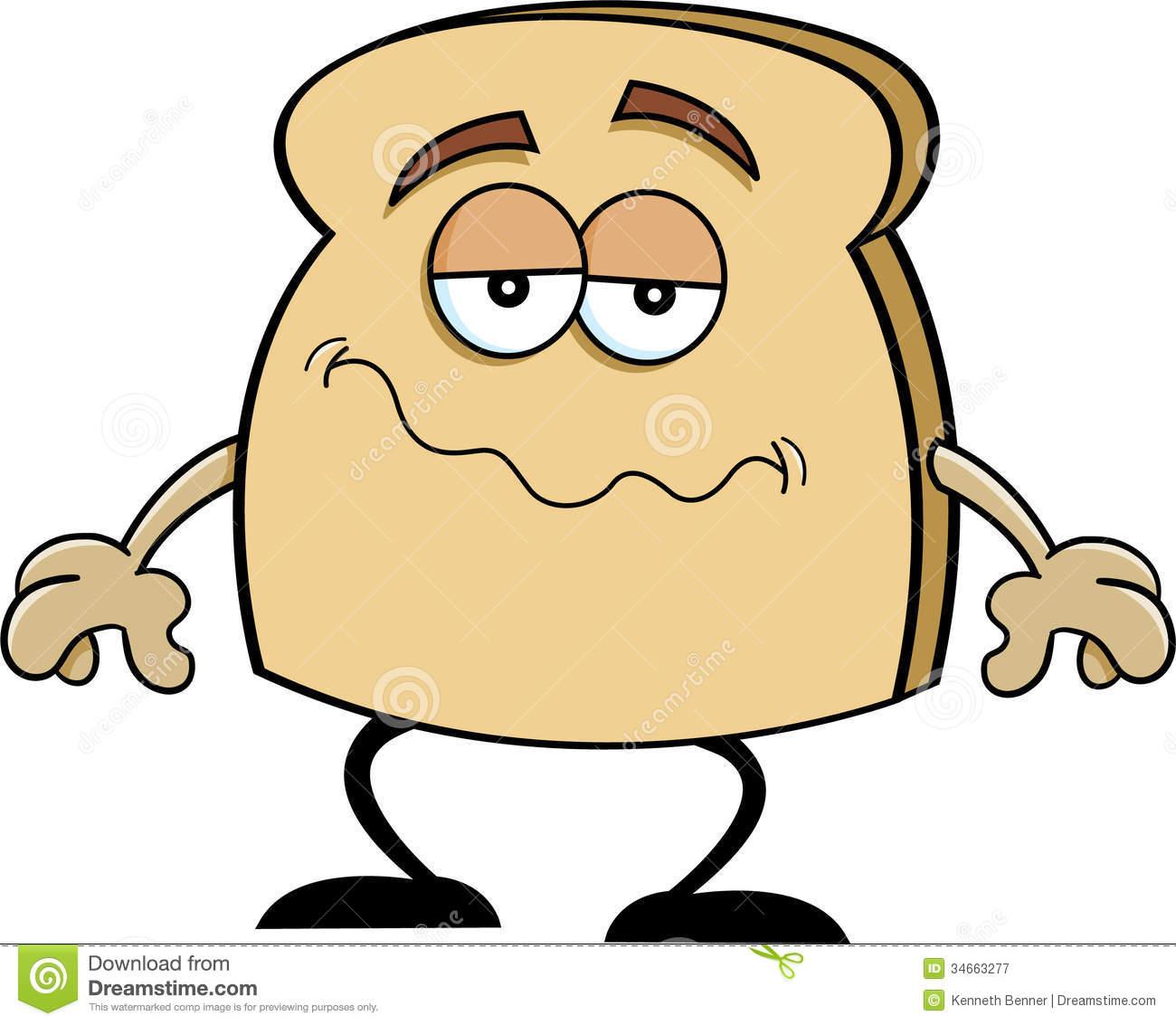 1300x1133 Toast Cute Clipart