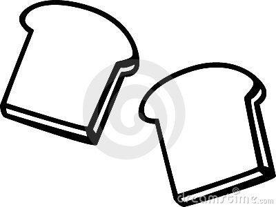 400x300 Bread Slices Clipart