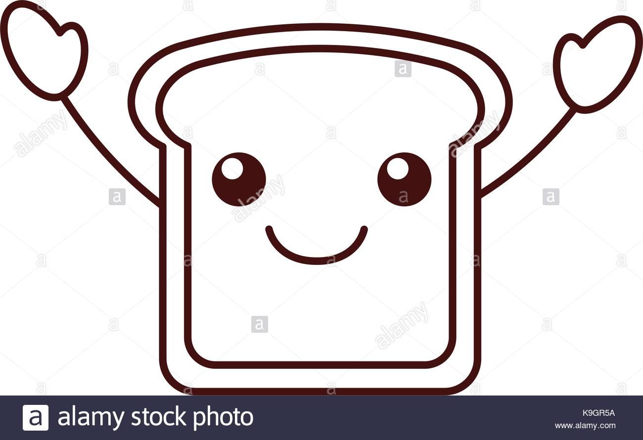 1300x890 Happy Bread Cartoon Stock Photos Amp Happy Bread Cartoon Stock