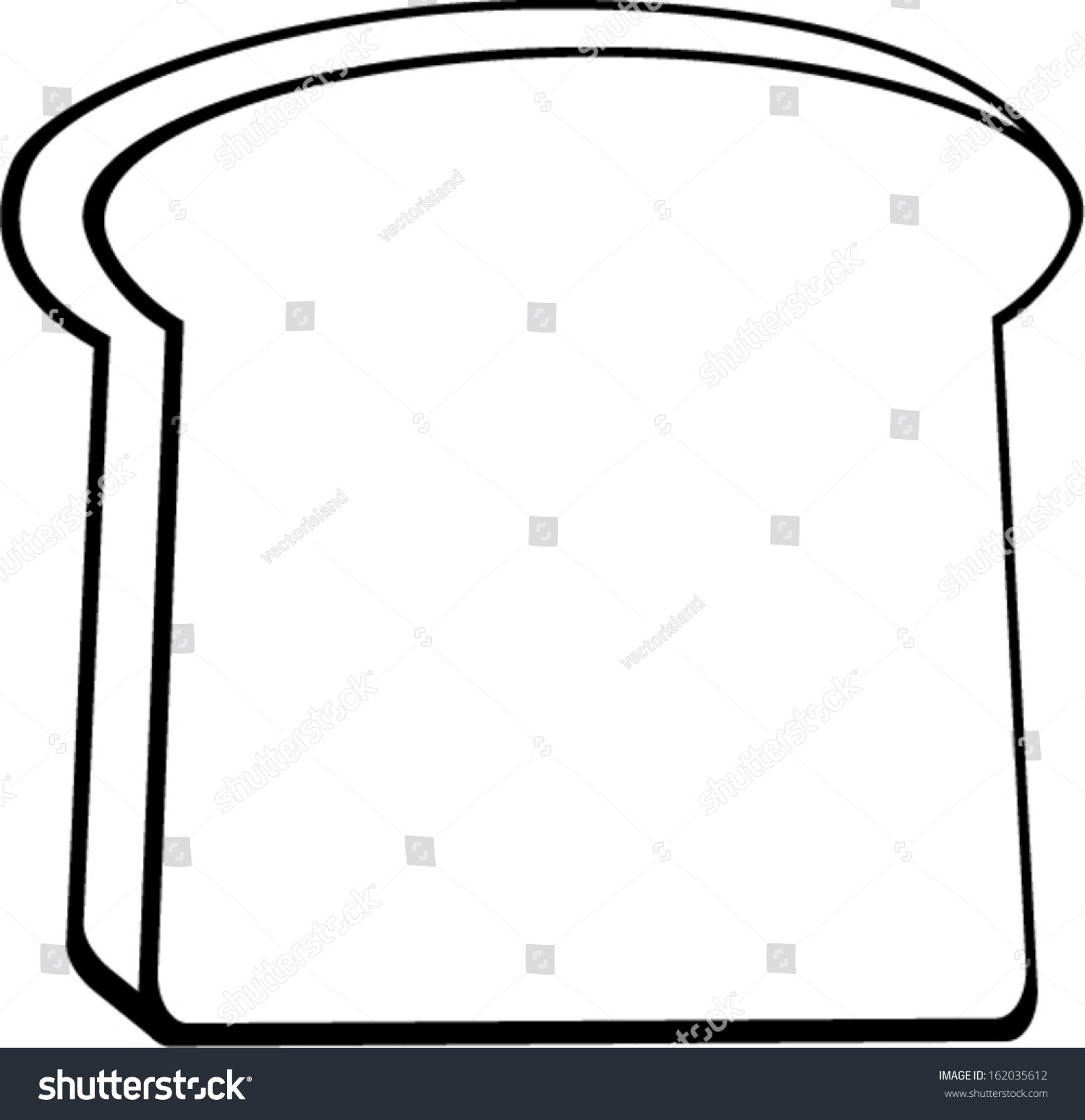 1500x1549 Toast Clipart Outline