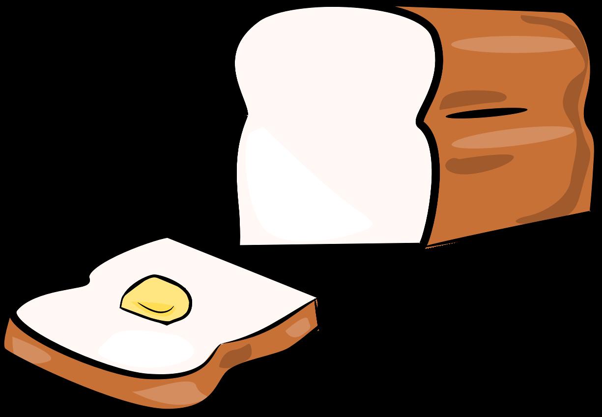 1225x848 Toast Clipart Slice Bread