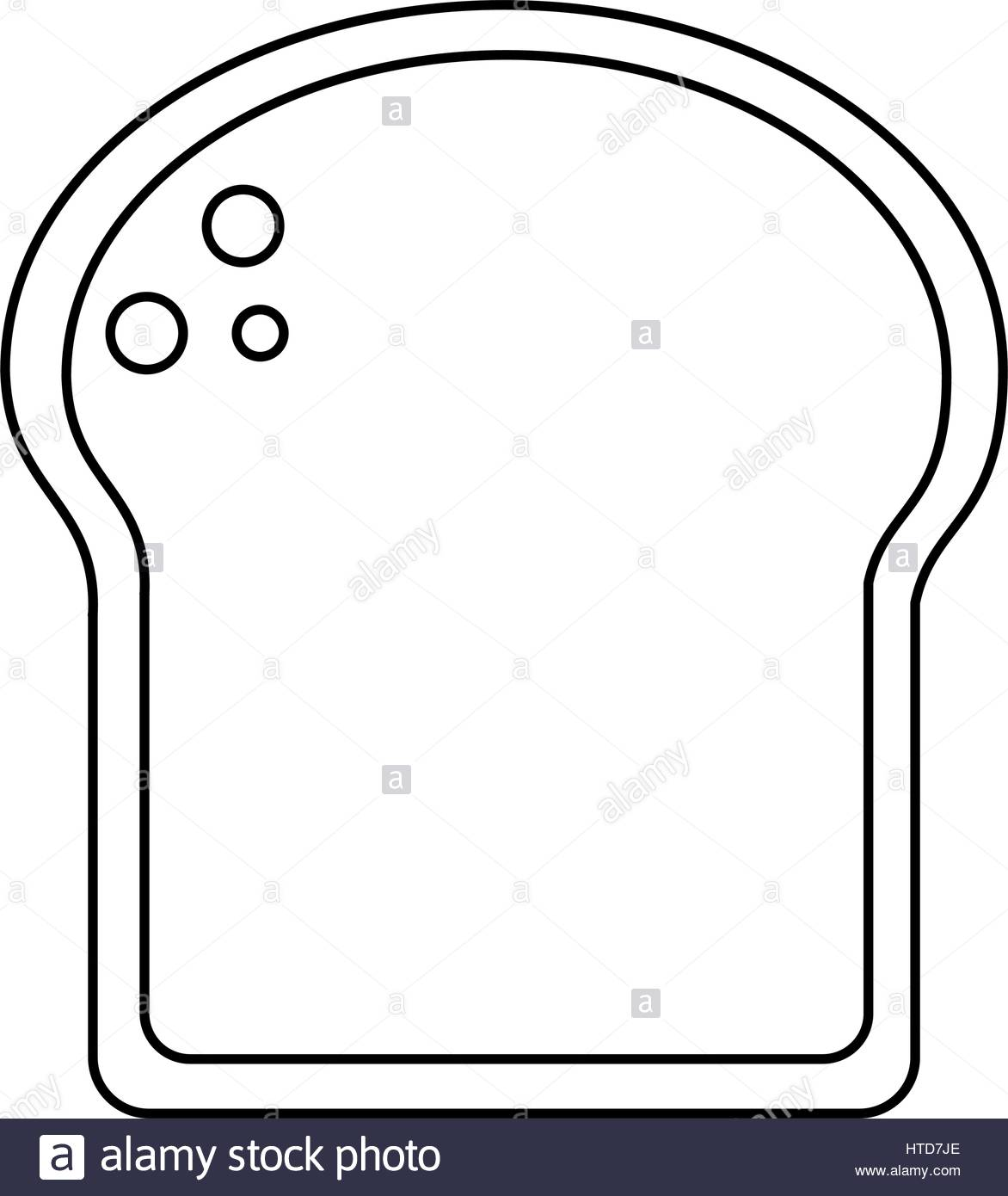 1172x1390 Slice Bread Bakery Thin Line Stock Vector Art Amp Illustration