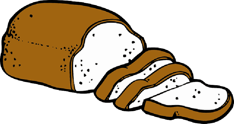 800x425 Brown, Icon, Food, Slice, French, Bread, Outline
