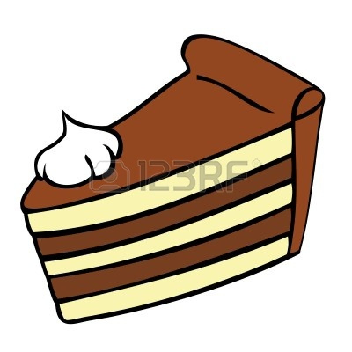 Cake piece. Slice of clipart free