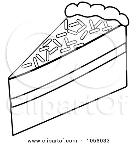 450x470 Clip Art Slice Of Cake Clipart