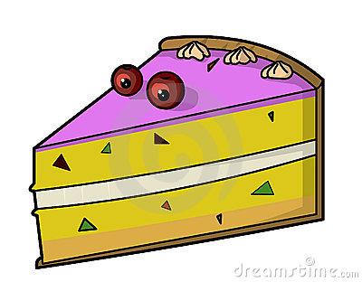 400x312 Clip Art Slice Of Cake Clipart