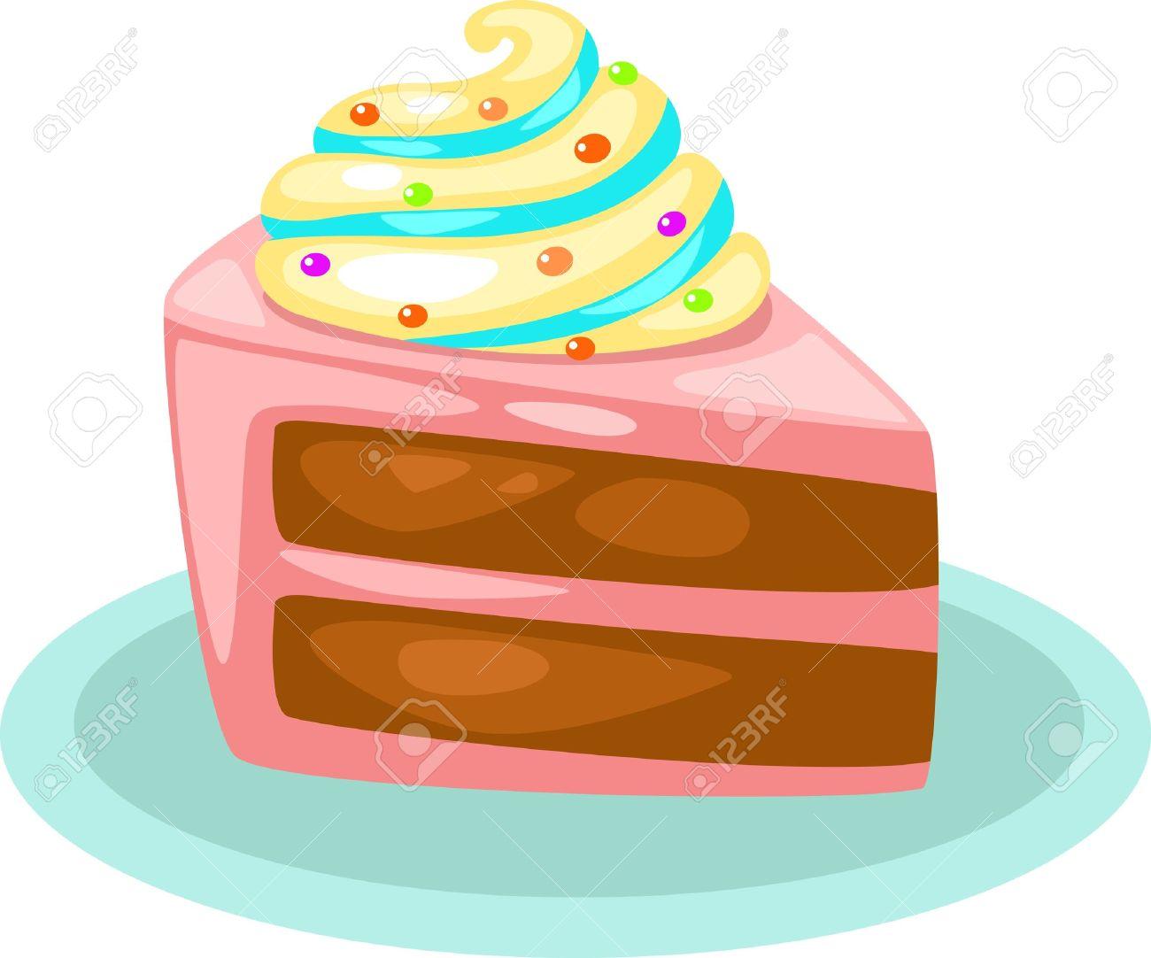 1300x1082 Dessert Clipart Birthday Cake Slice