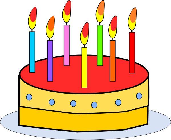 600x492 Best Birthday Cake Clip Art Ideas Happy