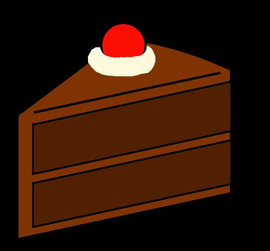 525x488 Slice Of Cake By Pseudospeed