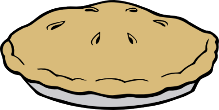 450x226 Pie Black And White Free Pie Clip Art Pictures 2