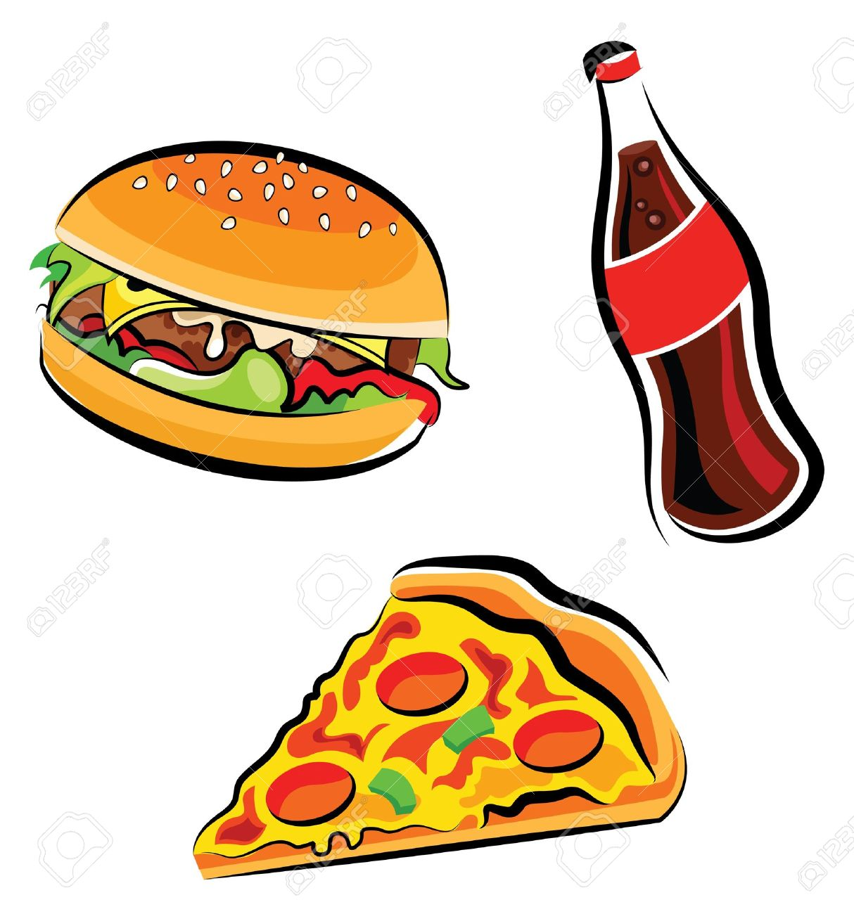 1214x1300 Hamburger Pizza Clipart Amp Hamburger Pizza Clip Art Images