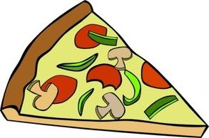 293x194 Pizza Slice Clipart