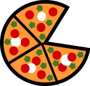 299x288 Pizza Slices Clip Art