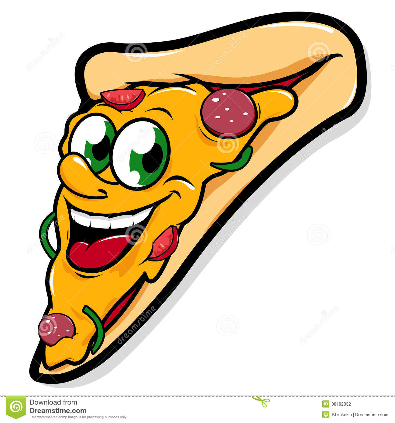 1300x1390 Pizza Clipart Smile