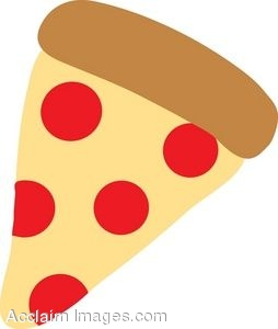 254x300 Slice Of Pizza Clip Art