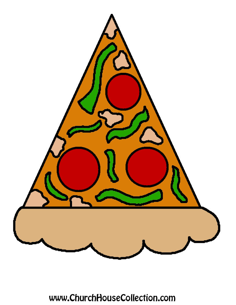 816x1056 Templates Clipart Pizza