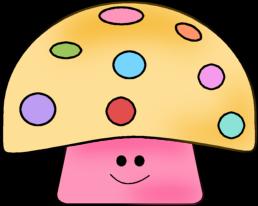 258x206 Colorful Mushroom Clip Art Colorful Mushroom Image Image