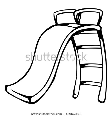 450x470 Slide Clipart Black And White