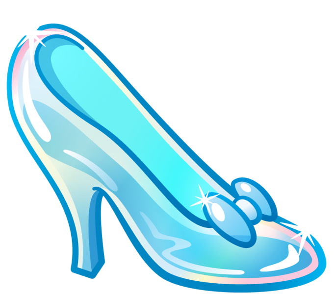 681x600 Heels Clipart Glass Slipper