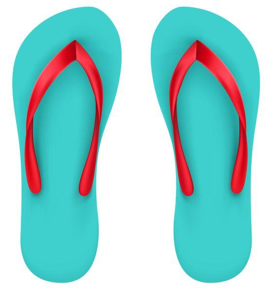 563x600 Aqua Beach Flip Flops Png Clipart Clip Art B Beach