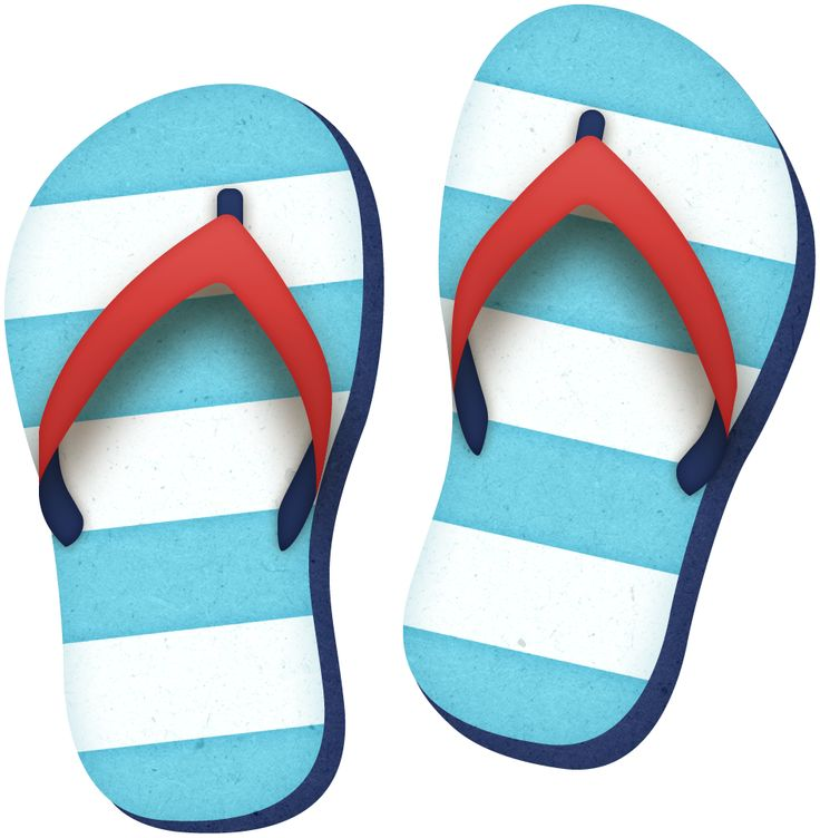 736x752 Sandal Clipart Slipper