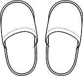 170x157 Slipper Clip Art